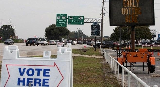 Eleição é em 4 de novembro, mas há locais que permitem votação antecipada