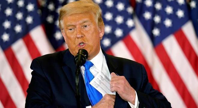 Trump tem aberto vários processos buscando derrubar o resultado da eleição
