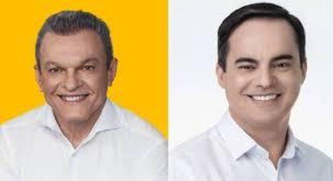 José Sarto, do PDT, e  Capitão Wagner, do Pros