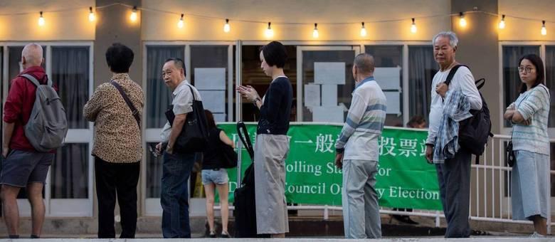 Eleições em Hong Kong