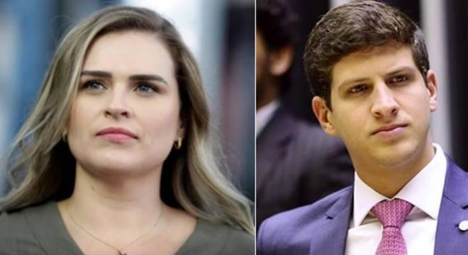 Os candidatos à Prefeitura de Recife, Marília Arraes e João Campos