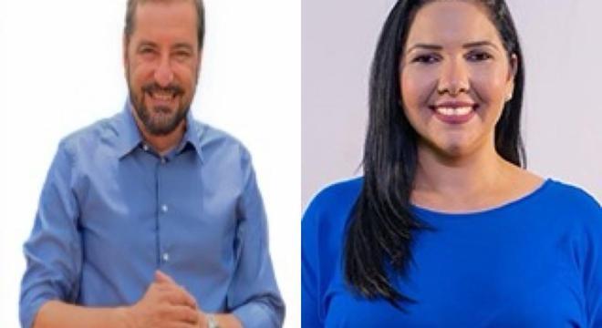 Candidatos Hildon Chaves (PSDB) e Cristiane Lopes (PP) foram para o 2º turno