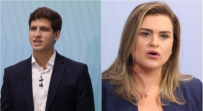 Deputados federais João Campos (PSB) e Marília Arraes (PT) são primos