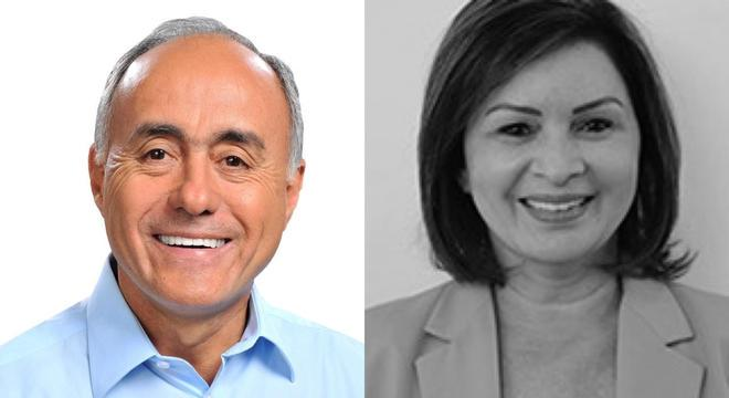 Candidatos Tião Bocalom (PP) e Socorro Neri (PSB) vão para o 2º turno
