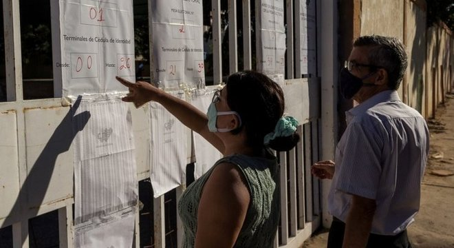 A maioria dos opositores ao chavismo não participou do processo eleitoral