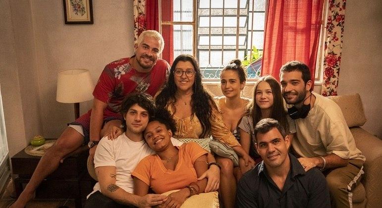 "Família de Regina Casé em ""Amor de Mãe"""