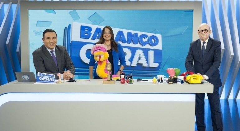 O Balanço Geral é sucesso de audiência nas tardes da Record TV