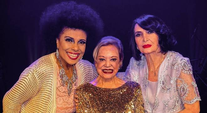 Eliana Pittman, Claudette Soares e Doris Monteiro fazem show em SP