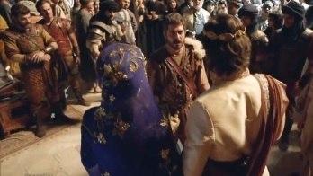 """Elias invade comitiva fenícia e profere: """"Chega de idolatria"""" (Reprodução/Record TV)"""