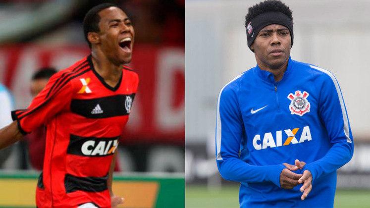 ELIAS – O meia foi campeão da Série B com o Corinthians em 2008 e da Copa do Brasil em 2009. Depois, teve uma passagem pelo Flamengo em 2013, onde conquistou a Copa do Brasil daquele ano. Em 2015, retornou ao Timão e foi campeão brasileiro.