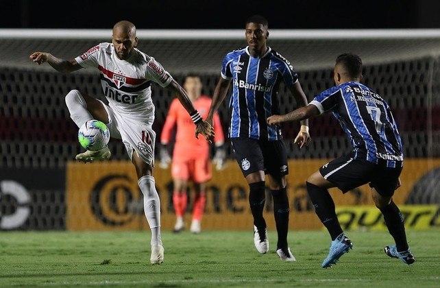 Eliminação na Copa do Brasil - No dia 30 de dezembro de 2020, um ponto de virada marcou a temporada do São Paulo. O Tricolor foi eliminado da Copa do Brasil pelo Grêmio, no Morumbi, após perder o jogo de ida por 1 a 0 e empatar sem gols na volta.