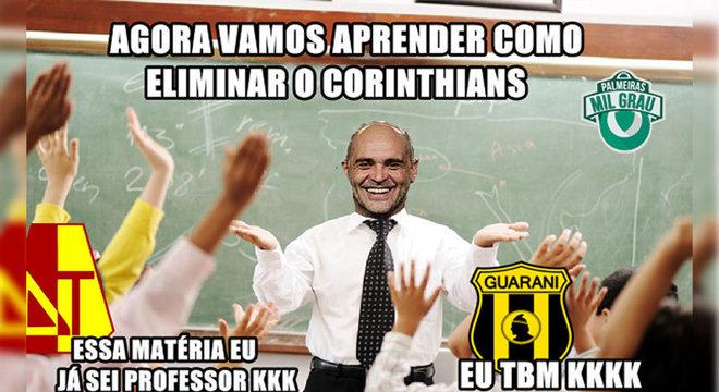 Eliminado novamente na pré-Libertadores, dessa vez pelo Guaraní-PAR, o Corinthians reviveu as zoeiras com o Tolima