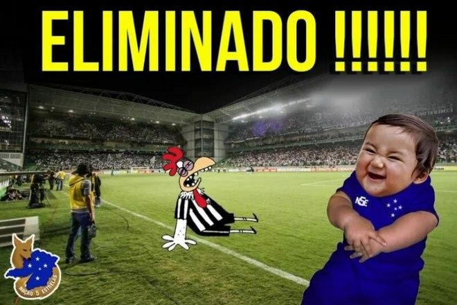 Eliminado pela Chapecoense nos pênaltis, Atlético-MG não escapou dos memes
