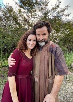 """Elisa Pinheiro e Emilio Orciollo Netto está na quinta fase de """"Gênesis"""""""