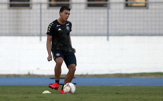 Elivelton (Lateral-direito) - Da mesma geração de Caio Alexandre, Elivelton foi um dos destaques do Botafogo na categoria sub-17, há três anos. No sub-20, contudo, ainda não conseguiu repetir o mesmo brilho, apesar de ser um titular regular desde então. É marcado pelo forte apoio ofensivo.