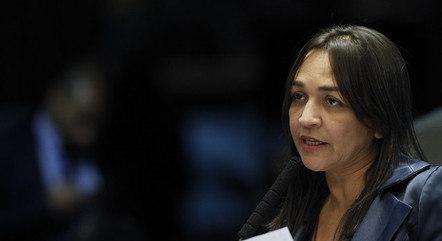 Na imagem, senadora Eliziane Gama (Cidadania-MA)