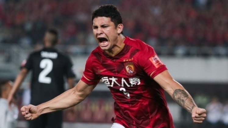 Elkeson, do Guangzhou Evergrande, está na China (Atacante, 30 anos - Contrato com o clube atual válido até junho de 2023).