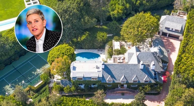 Ellen DeGeneres coloca mansão em Bervely Hills à venda
