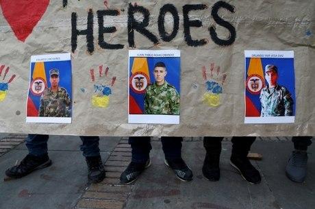 Soldados colombianos foram sequestrados pelo ELN