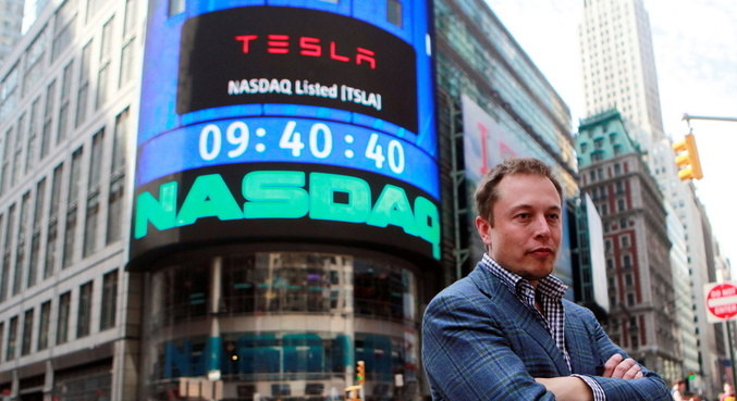 Elon Musk e considerado um dos homens mais ricos do mundo