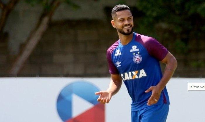 Elton - Após três temporadas no Bahia, o volante foi pouco aproveitado em 2020 e não terá o vínculo prolongado.