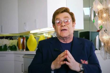Elton John foi o apresentador do evento