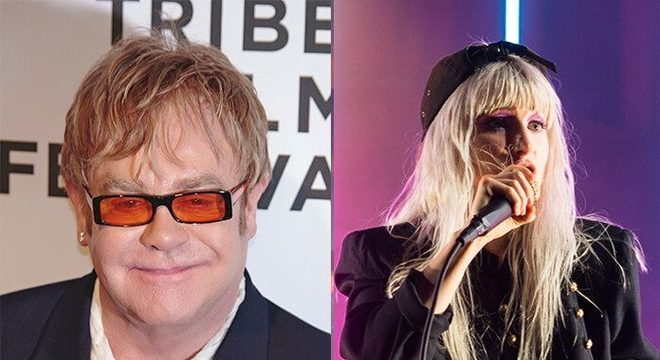 Elton John e Hayley Williams