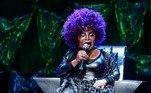 Nos últimos anos, Elza variou bastante a cor de seus cabelos e até subiu aos palcos com um black power roxoVeja também:Ludmillamostra seu cabelo black power e ganha elogios de famosas