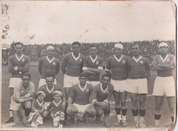 Em 10 de dezembro de 1933, o Palestra Itália, jogando em casa, venceu o Fluminense por 2 a 1, com gols de Gabardo e Dula, e tornou-se o campeão da primeira edição do Torneio Rio-São Paulo.