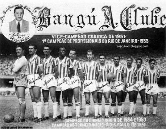 Em 1951, por sua vez, o Bangu se consagrou como campeão do Torneio Rio-São Paulo.