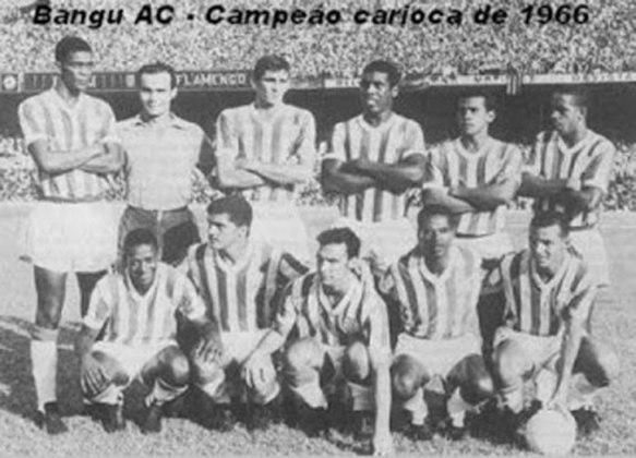 Em 1966, o Bangu fez excelente campanha e conquistou o Bicampeonato do  Carioca.
