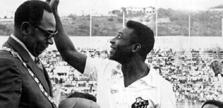 Em 1969, o Santos de Pelé realizou uma excursão na África. Em uma das partidas, o amistoso da equipe fez que fosse paralisada uma guerra civil na Nigéria que durava anos. Após deixar o local, o conflito acabou retornando.