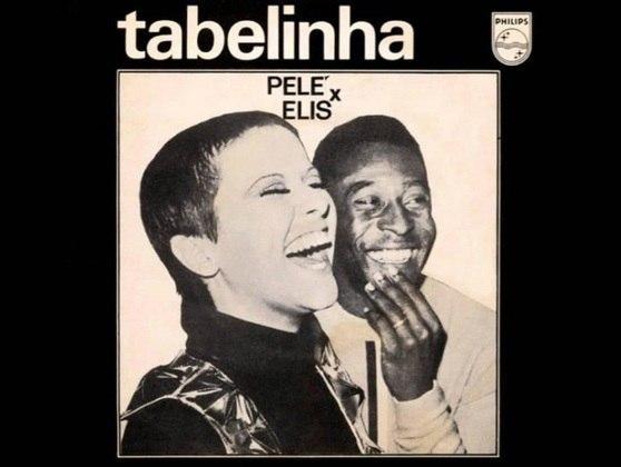 Em 1969, Pelé gravou um compacto com Elis Regina. A já consagrada