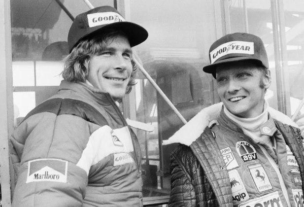 Em 1976, James Hunt e Niki Lauda protagonizaram uma temporada histórico na Fórmula 1 e se tornaram rivais nas pistas.