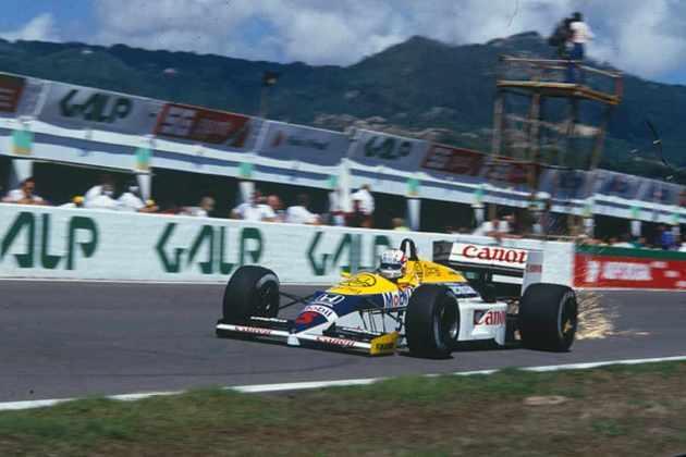 Em 1986, a vitória ficou com Nigel Mansell. O triunfo do inglês foi suficiente para garantir o título mundial de construtores para a Williams