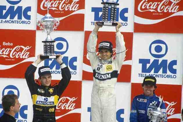 Em 1986, a Williams era o carro a ser batido. Com motores Honda, a campanha começou com vitória de Nelson Piquet no GP do Brasil