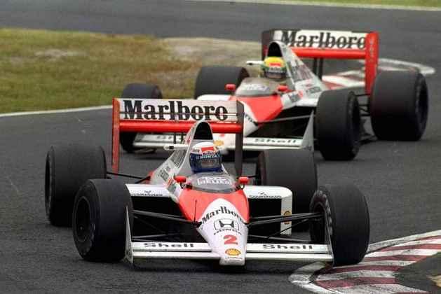 Em 1989, a McLaren dominou mais uma vez, agora com o MP4/5. O título ficou com Alain Prost, após o acidente com Ayrton Senna no GP do Japão
