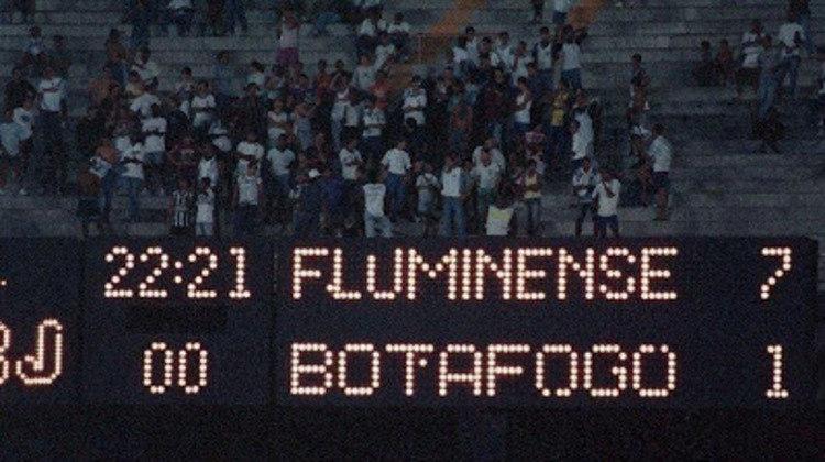 Em 1994, o Fluminense aplicou a histórica goleada por 7 a 1. Foi a maior vitória do Tricolor sobre um rival carioca, a partida ficou conhecida como