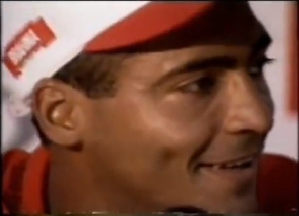 Em 1995, Romário se apresentou ao Flamengo provocando o rival: