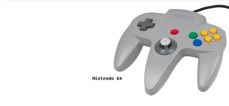 Em 1996, o Nintendo 64 foi o primeiro console a adotar o direcional analógico.