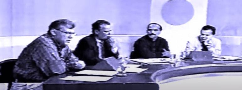 Em 1997, Roberto Avallone, então no Mesa Redonda, disse que Milton Neves havia se vendido ao Corinthians após ser contratado como Mestre de Cerimônias pelo alvinegro em seu aniversário. Ele foi ao programa para se defender e quase chegaram a agressões físicas. Entre outras frases marcantes, Neves soltou 'perdoai esta anta que não para de falar' e 'existe um homossexual nesta mesa'.