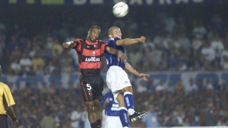 Em 2003, quem fez a final foi Flamengo e Cruzeiro. Depois de empatarem em 1 a 1 no jogo de ida, a Raposa venceu a partida da volta por 3 a 1 e conquistou o título.