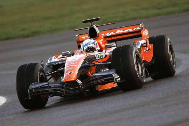 Em 2007, a Spyker começou o ano com o F8-VII e viveu seu grande momento ao liderar o GP da Europa com Markus Winkelhock