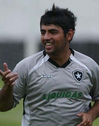 Em 2008, o atacante Escalada chegou ao Botafogo sob forte expectativa. Porém, fora de forma, argentino não rendeu dentro de campo. Jogou somente duas partidas pelo Glorioso.