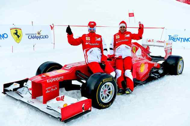 Em 2009, passou a defender a Ferrari