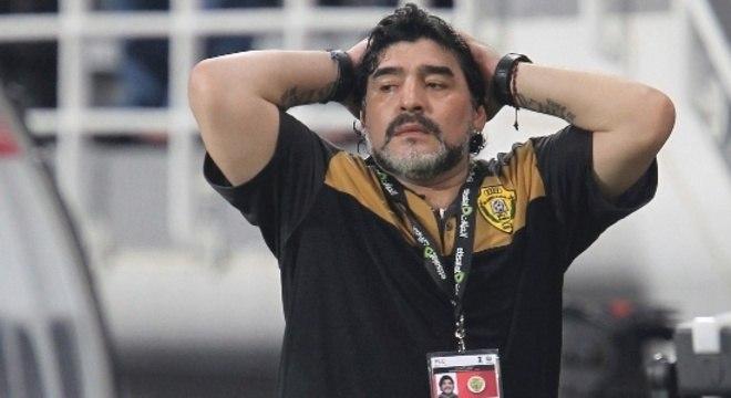 Maradona está internado desde a última segunda-feira