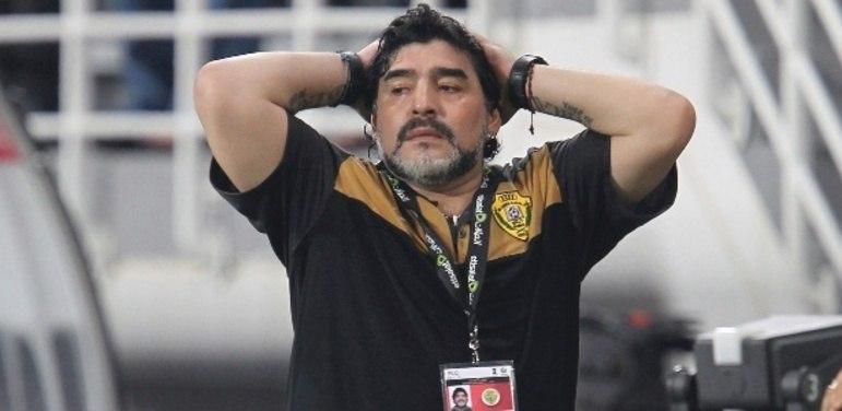 Em 2011, Maradona foi anunciado como treinador do Al Wasl, dos Emirados Árabes, onde ficou até 2012