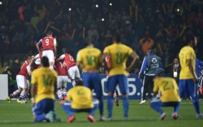 Em 2011, na Copa América, Brasil e Paraguai ficaram no zero a zero no tempo normal e na prorrogação. Entretanto, nos pênaltis, a seleção brasileira desperdiçou quatro cobranças e foi eliminada.