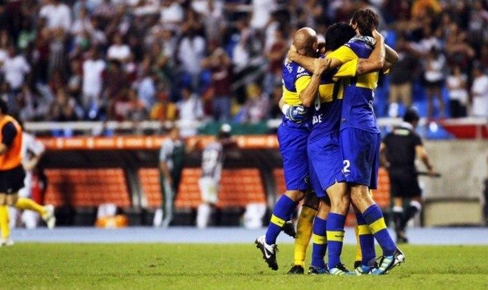 Em 2012, o Fluminense reencontrou o tradicional Boca Juniors, que havia eliminado na edição de 2008. Dessa vez, os argentinos levaram a melhor nas quartas de finais, ao vencer por 1 a 0 na Bombonera e empatar no Rio de Janeiro por 1 a 1 com gol de Santiago Silva aos 45 minutos.