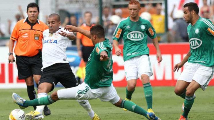 Em 2012, o Palmeiras caiu pela segunda vez para a Série B. O atacante Sheik, do Corinthians, resolveu provocar os rivais: